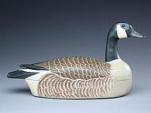 Rare Canada goose wine caddy, Horace