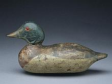Rare wood duck, Mason Decoy Factory, Detroit, Michigan, circa 1900.