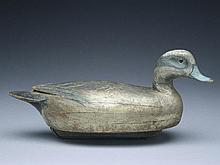 Rare hollow widgeon drake, Ben Schmidt, Detroit, Michigan, circa 1940.