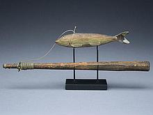 Trout fish decoy from Lake Chautauqua, New York.