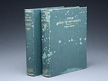 Two volume hard cover set of books entitled,