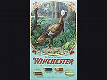 Rare and desirable Winchester poster,