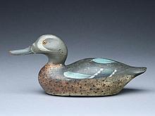 Bluewing teal drake, Mason Decoy Factory, Detroit, Michigan.
