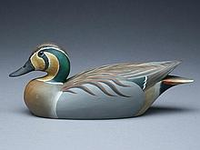 Wood duck hen, Torrey Ward maker, original paint by Marty Hanson.