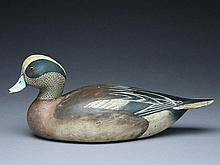 Cedar widgeon drake, Ward Brothers, Crisfield, Maryland, circa 1940.