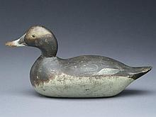 Extremely rare bufflehead hen, Mason Decoy Factory, Detroit, Michigan.