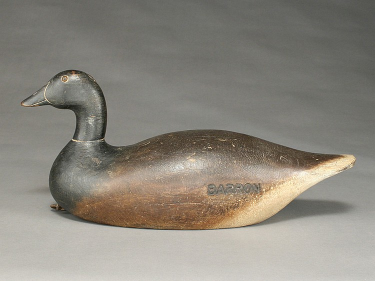 Brant, Mason Decoy Factory, Detroit, Michigan.