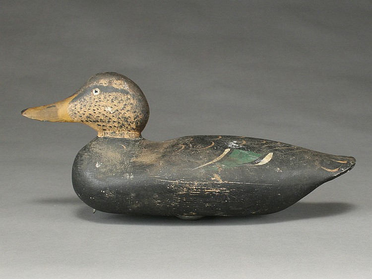 Blackduck, Mason Decoy Factory, Detroit, Michigan.