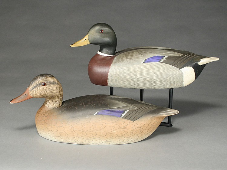 Pair of mallards, Ken Harris, Woodville, New York.