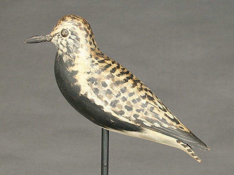 Classic blackbellied plover, Elmer Crowell, East Harwich, Massachusetts, 1st quarter 20th century.