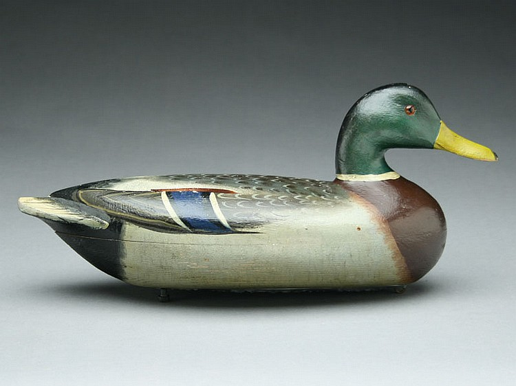 Mallard Drake, Charles Perdew, Henry, Illinois, 2nd quarter 20th century.