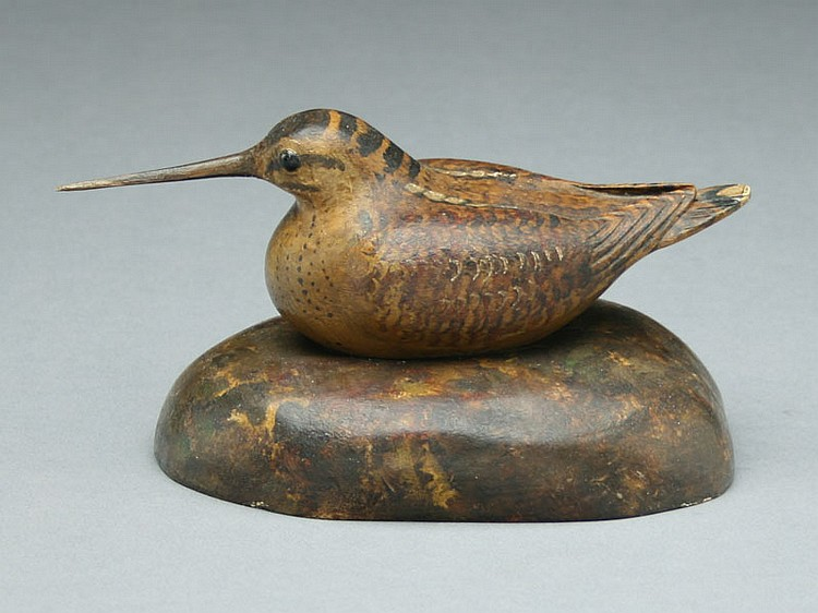 Decorative woodcock, Frank Finney, Virginia Beach, Virginia.