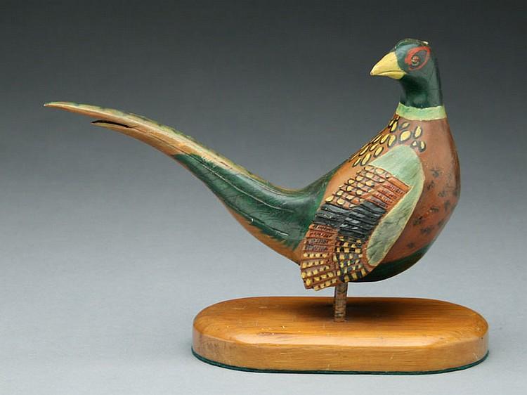 1/4 size ringneck pheasant, John Hyatt, North Winchester, Illinois.