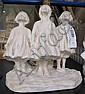 Nordin, Alice, figurgrupp, gips, 'Barn som ser