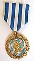 Medalj, 18 k rödguld, Göteborgs Stads