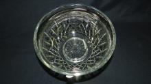 Large marked Waterford crystal fruit bowl, COND VG