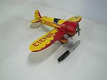 Texaco Die Cast Airplane Bank. (Dusty). By Ertl.