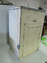 Small Tin Pie Safe(?) Approx 27-1/2