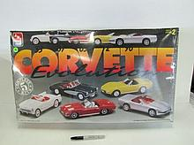 Corvette Model. 5 Complete Models In One Box. Factory Sealed. Box Is As Seen.