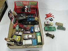 Box Lot Assorted Toy Cars. As Shown.