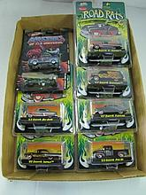 Box Lot Assorted Road Rats Cars As Show. Packages May Be Dusty.