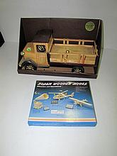 Wooden Truck Model & Solar Wooden Model, In Box.