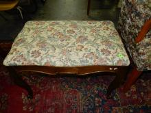 Nice recovered foot stool, special shipping required