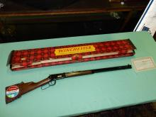 Wonderful Winchester model 94 Classic, 30-30 lever action repeating rifle, octagon barrel, in original box with warranty certificate, shows a date of 22 October 1968, serial #3163963.*FFL paperwork required & $25 fee processed by Cherokee firearms