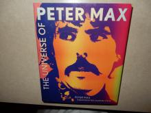 Original, personally autographed Peter Max book, by Peter Max