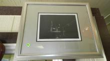 vintage framed litho, signed and numbered, titled Still Life