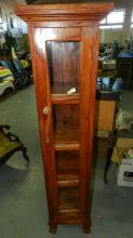 6) Unique slim chimney cupboard / curio, (newer) special shipping required