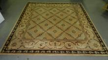 Lovely machine made area rug. Special shipping required