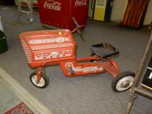Vintage childs toy pedal tractor, Murray, wheels as found, special shipping required