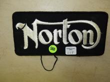 Vintage Norton motorcycle patch