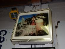 Unique! Vintage lighted advertising sign for Michelob dry beer, with moving waves and glass being emptied motion