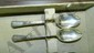 41 piece Century Sterling Silver Flatware Stardust plus one odd serving piece, in case place setting