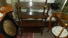 Vintage Bookcase stand / curio display, special shipping required