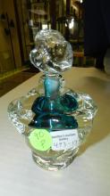 17) Lovely, signed, Applebaum, studio art glass perfume