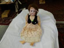 Nice antique bisque head doll