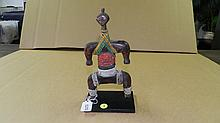 5250) African Namji doll, from Cameroon. 10 1/2