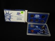 Nice U.S. Proof coin set in holder 1999