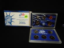 Nice U.S. Proof coin set in holder 2006