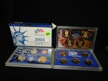 Nice U.S. Proof coin set in holder 2008