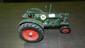 605) die cast vintage toy tractor 7 1/2