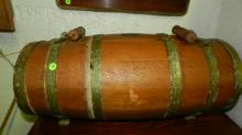 Antique water or spirits cask barrel for ship / boat, complete