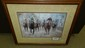signed Merry Kelly horse racing framed limited edition print, listed artist