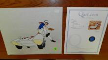 unique Speed Racer Sericel, limited Edition, unframed, with COA