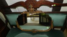 3) Fancy carved wall mirror