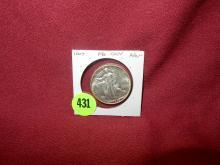 Nice U.S. 1945 Walking Liberty Half Dollar