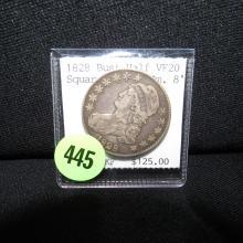 Nice U.S. 1828 Bust half dollar